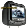 จอฝังหมอน 9 นิ้ว พร้อมเครื่องเล่น DVD Player+Gaming System+FM Transmitter แพ็คคู่ ราคาพิเศษ