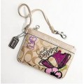 COACH POPPY PETAL APPLIQUE WRISTLET 44947