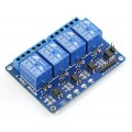 Relay 4 Channel 5V 10A 250V for Arduino