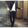 Japanese Style Men Blazer เสื้อเบลเซอร์สไตล์ญี่ปุ่นสีดำ เสื้อสูท ชุดสูท ชุดทำงาน เสื้อสูทผู้ชาย