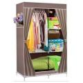 ตู้เสื้อผ้า ตู้เสื้อผ้าพลาสติก ราคาตู้เสื้อผ้า tu00001-1 ตู้เสื้อผ้า index 2 บล็อค สีน้ำตาล