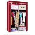 ตู้เสื้อผ้า ตู้เสื้อผ้าพลาสติก ราคาตู้เสื้อผ้า tu00003-2 ตู้เสื้อผ้า index 2 บล็อค สีแดง
