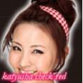 Kamipita  hair- band check red / คามิพิตะ คาดผม ลายตาราง สีแดง