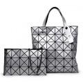 กระเป๋า+กระเป๋าแฟชั่น+กระเป๋าสะพายข้างเซต 2 ใบbag0022c-1-1เทา
