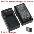 แท่นชาร์จแบตกล้องวีดีโอ Canon BP-110 /Camcoder Battery Charger Canon BP-110