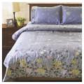 ผ้าห่มนวม ริโอเม่ ลายฟลาวเวอร์ บลู (Flower Blue)