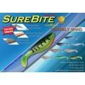 เหยื่อปลอม Surecatch ปลายาง Wriggly Shad 2.5
