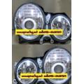 ไฟหน้าโปรเจคเตอร์ BENZ E-CLASS W210 99-02 ขาว CCFL