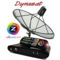 ไดน่าแซท 5 ฟุต +GMM Z รับชมช่องพิเศษ จาก GMM แกรมมี่ และ บอลยูโร 2012