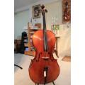 เชลโล่เซซิเลียรุ่น Cecilia Cello Model CC-1 เสียงไพเราะ ขายดีอันดับ1 สำหรับผู้เริ่มต้น