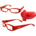 แว่นสายตา Moschino พร้อมกล่องหนังสีแดง สวยมากๆๆคะ