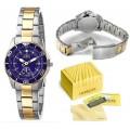 Invicta นาฬิกาผู้หญิง สองกษัตริย์ ทอง 18 K ระดับ Hi-Class
