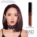 (สี A06 SEXY BROWNIE) RAD Cosmetics ลิปน้ำชา - Matte Liquid Lipsticks