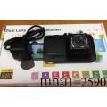 กล้องติดรถยนต์ T176 (กล้องหน้า-หลัง) 1แถม 1 ราคา 2590