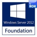 HP Windows Server 2012 R2 Foundation Edition 1P Reseller Option Kit (ROK) - 748920-371