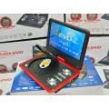 เครื่องเล่น DVD 13.8 นิ้ว แบบพกพา widescreen TV SDcard USB GAME Remote