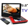 gครื่องเล่น DVD 9.8 นิ้ว แบบพกพา อีกทั้งมี TV ในตัวและยังมี SD MMC USB GAME