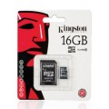 16GB MICRO SD CARD KINGSTON CLASS 4 สำหรับ กล้องติดรถ กล้อง mp3 ของแท้