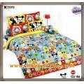 ผ้าปูที่นอนโตโต้ลายการ์ตูนลิขสิทธิ์ คิวตี้ Disney Cuties - CU046