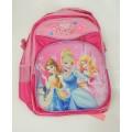 กระเป๋าเด็ก : 3-D Bag กระเป๋าสะพายหลังสีชมพู เจ้าหญิง 3D ตัวนูน ขนาด 30*41*17 ซม. BG-5704309