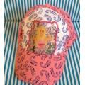 หมวก บาร์บี้ Barbie สำหรับเด็กโต ด้านหลังปรับขนาดได้ 1-2 นิ้ว