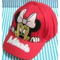 หมวกแก๊ป Minnie mouse มินนี่เม้าส์ ด้านหลังปรับได้อีก