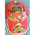 หมวกแก๊ป Sofia the first เจ้าหญิง โซเฟีย ด้านหลังเป็นเมจิกเทป ปรับได้ 1-2 นิ้วค่ะ