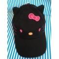 หมวกแก๊ป คิตตี้ Kitty ด้านหลังเป็นยางยืดขยายได้นิดหน่อยค่ะ