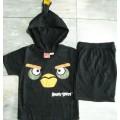 ลิขสิทธิ์แท้ แฟนซี นกยั๊ว ( Angry Birds ) ชุดแขนสั้นขาสั้น ผ้าคอตต้อน