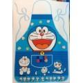 กันเปื้อนผ้าร่ม โดเรม่อน (Doraemon) ความยาวจากหน้าอกถึงชายผ้า 28 นิ้วค่ะ เด็กโต ผู้ใหญ่ ใส่ได้ค่ะ