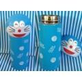 กระติกเก็บร้อน เย็น โดเรม่อน (Doraemon) เปิดฝา แล้ว เทดื่มได้เลย ขนาด 320ML สูง 7.5 นิ้ว