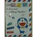 หุ้ม ปกพาสปอร์ต PassPort(ใส่ book bank สมุดบัญชี ธนาคารได้ค่ะ) ลาย โดเรม่อน Doraemon