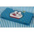 กระเป๋าสตางค์หนัง Doraemon โดเรม่อน ขนาด 7.5x3.5 นิ้ว