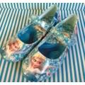 รองเท้าคัทชู เจ้าหญิง หิมะ Frozen ไซด์ที่แจ้งวัดด้านในรองเท้านะคะ
