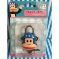 แม่กุญแจ พร้อมลูกกุญแจ สำหรับติด กระเป๋า กระเป๋าเดินทาง ตู้ หรือ อื่น ๆ ลาย พอลแฟรงค์ (Paul Frank)