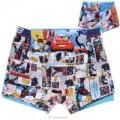 กางเกงในเด็ก : กางเกงใน boxer ผ้าคอตตอนยืด 100 ลาย Spiderman แพ็คคู่