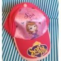 หมวกแก๊ป Sofia the first โซเฟีย ด้านหลังเป็นเมจิกเทป ปรับได้ 1-2 นิ้วค่ะ