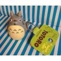 พวงกุญแจ โตโตโร่ (Totoro) มีปุ่มกดด้านหลัง พอกดจะมีไฟที่จมูก มีเสียงด้วยค่ะ