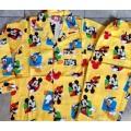 ลิขสิทธิ์แท้ ชุดนอน แขนยาวขายาว ผ้าคอตต้อนลาย มิกกี้เม้าส์ Mickey mouse ราคาป้าย 665บ.