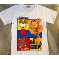 ลิขสิทธิ์แท้ เสื้อยืด เนื้อคอตต้อน ลาย การ์ฟิว (Garfield)