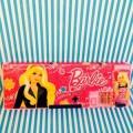 กล่องดินสอแม่เหล็กเปิดได้ 2 ด้าน มีเหลากบในตัว Barbie บาร์บี้
