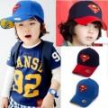 หมวก Cap ปัก S สัญลักษณ์ซุปเปอร์แมนขวัญใจหนู ๆ ครับมี 2 สีน้ำเงินและสีดำ สวยเทห์ เหมาะกับน้องอายุ 4-