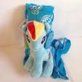 ถุงสะพาย เก็บร้อนเย็น สำหรับ ใส่ ขวดน้ำ กระติกน้ำ แบบตัวตุ๊กตา ลาย ม้าน้อย โพนี่ (My Little Pony) ด้