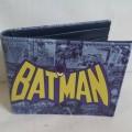 กระเป๋าสตางค์ ลาย แบทแมน Batman ขนาด 4.5x3.5 นิ้ว