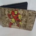 กระเป๋าสตางค์ ลาย อเวนเจอร์ Avengers (ไอร่อนแมน iron man) ขนาด 4.5x3.5 นิ้ว