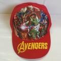 หมวกแก๊ป อเวนเจอร์ Avengers ironman ไอรอน แมน เด็กโต ผู้ใหญ่ ความยาวรอบหมวก 23cm ได้หลังปรับระดับได้