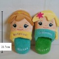 รองเท้าอยู่บ้าน ไซด์กลาง สำหรับเด็กโต ขนาดยาว 21.5 cm เจ้าหญิง ดีสนีย์ โฟสเซ่น โซเฟีย