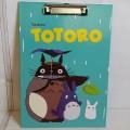 แฟ้ม หนีบกระดาษ โตโตโร่ (Totoro) ขนาด 10x14 นิ้ว