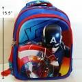 เป้ Captain America กัปตัน อเมริกา โล่กัปตัน เป็นตัวนูน ค่ะ ขนาด 12x15.5x4 นิ้ว