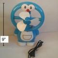 พัดลมตั้งโต๊ะ โดราเอม่อน Doraemon ขนาดสูง 9 นิ้ว